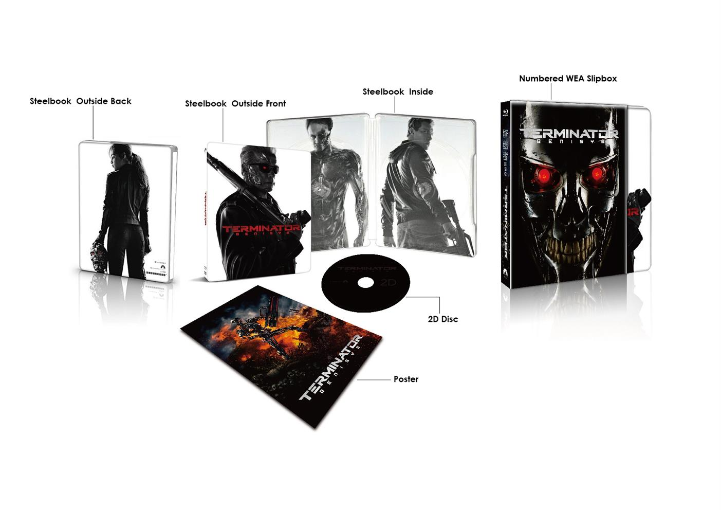 Terminator Genisys China Steelbook Edition