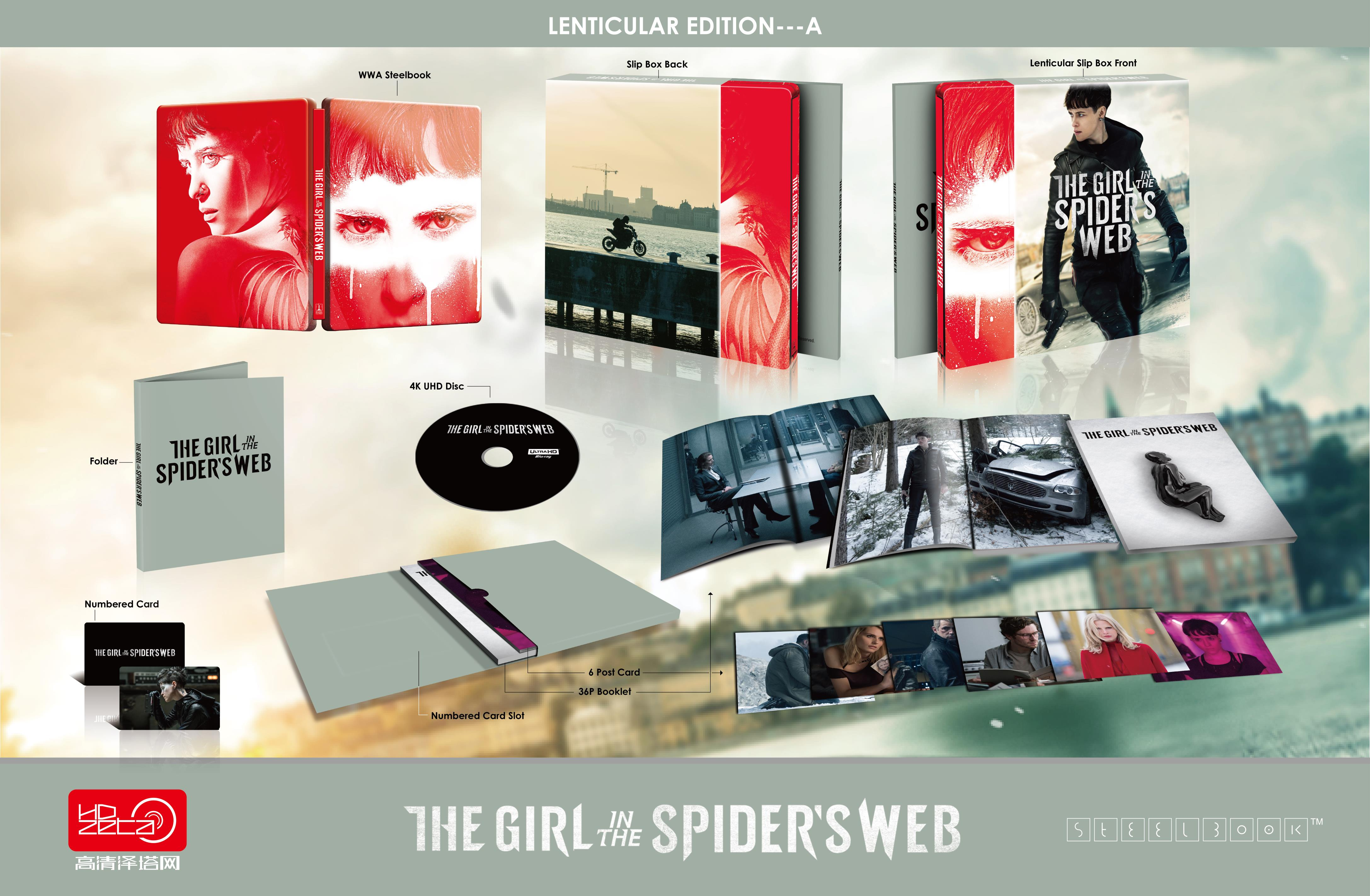 The Girl in the Spider' Web(4K)HDzeta Silver Label Lenticuar---A