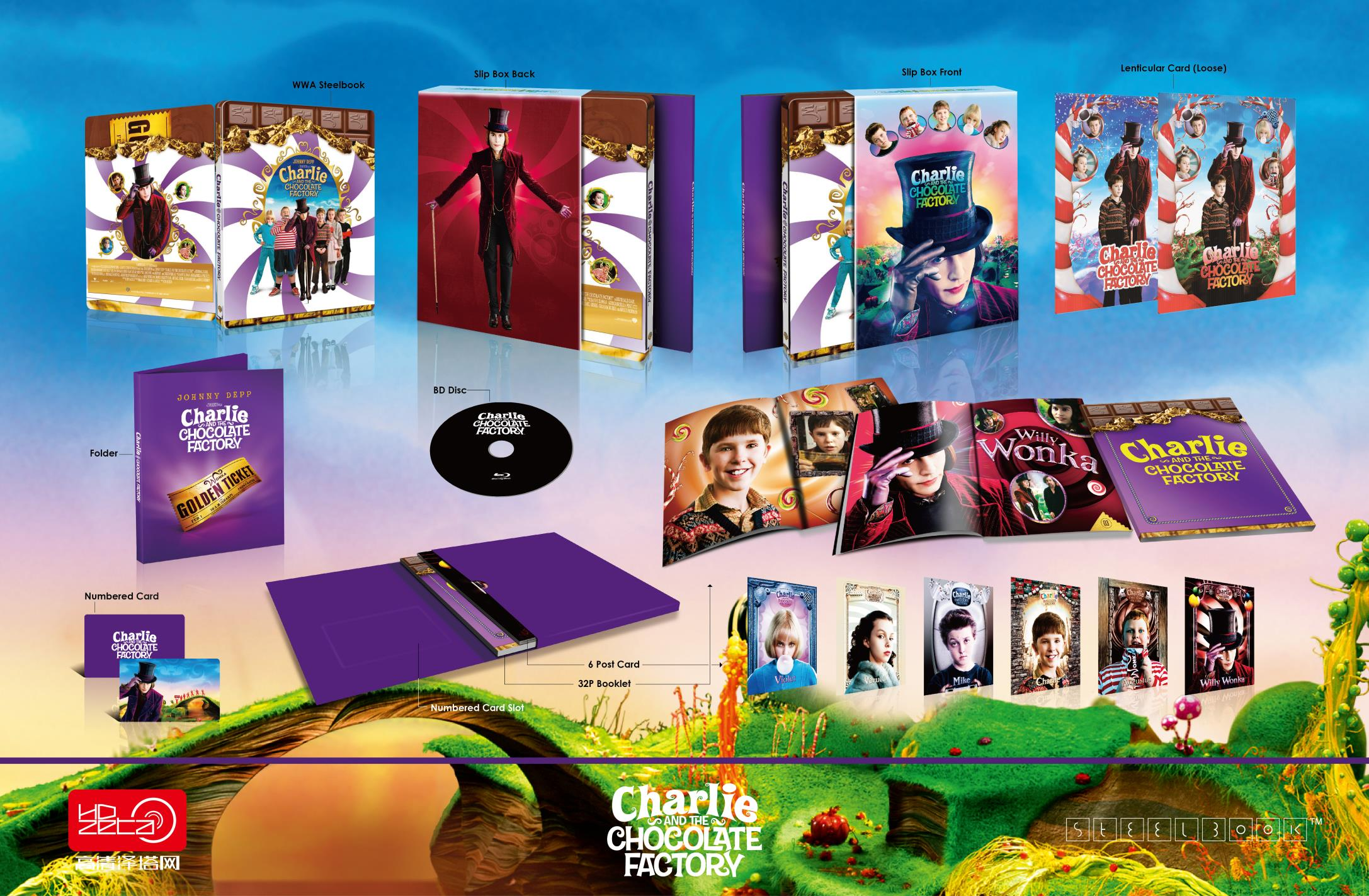 Charlie & Chocolate Factory HDzeta Silver Label Special Edition