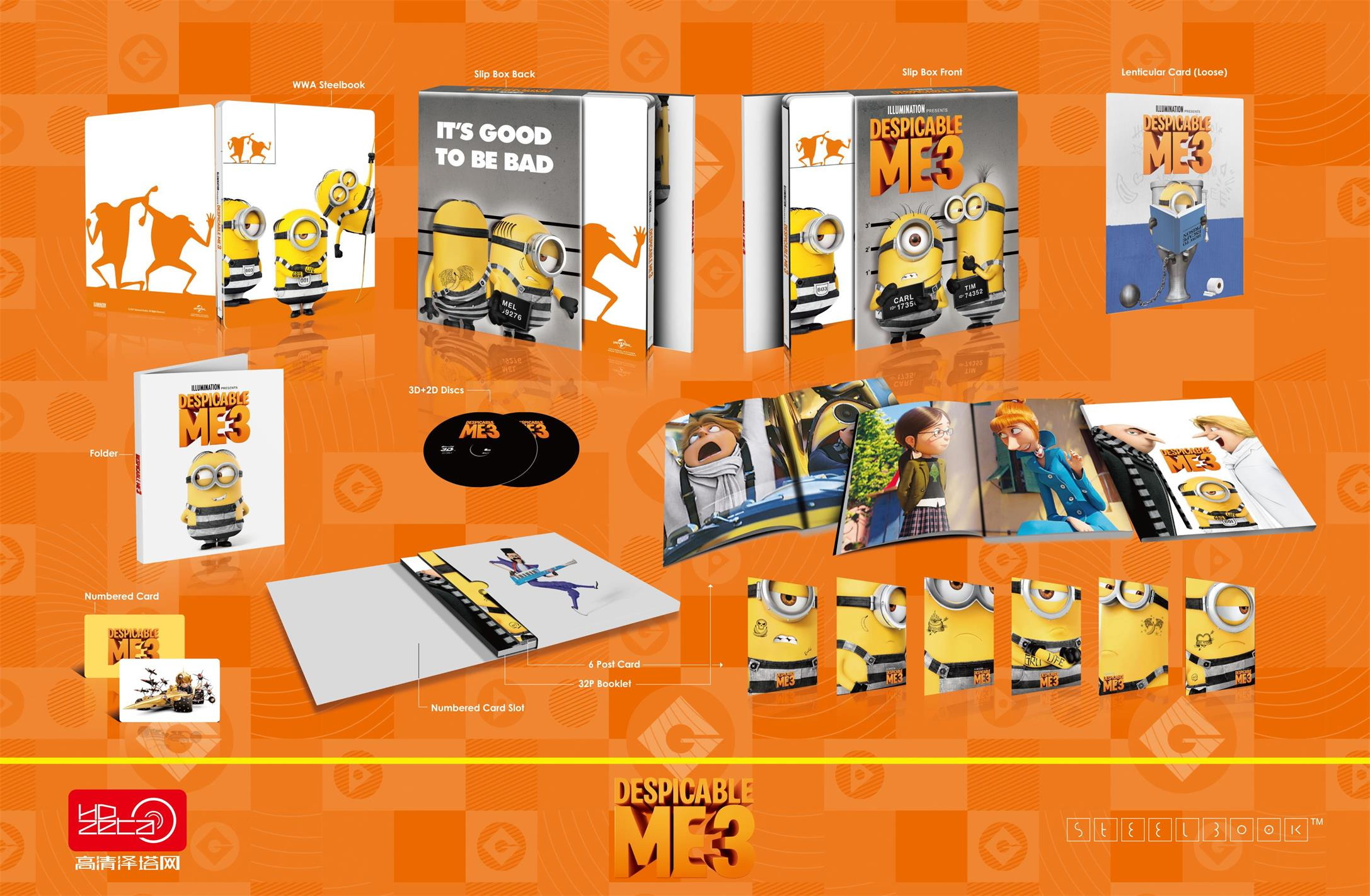 Despicable Me 3 HDzeta Silver Label Special Edition