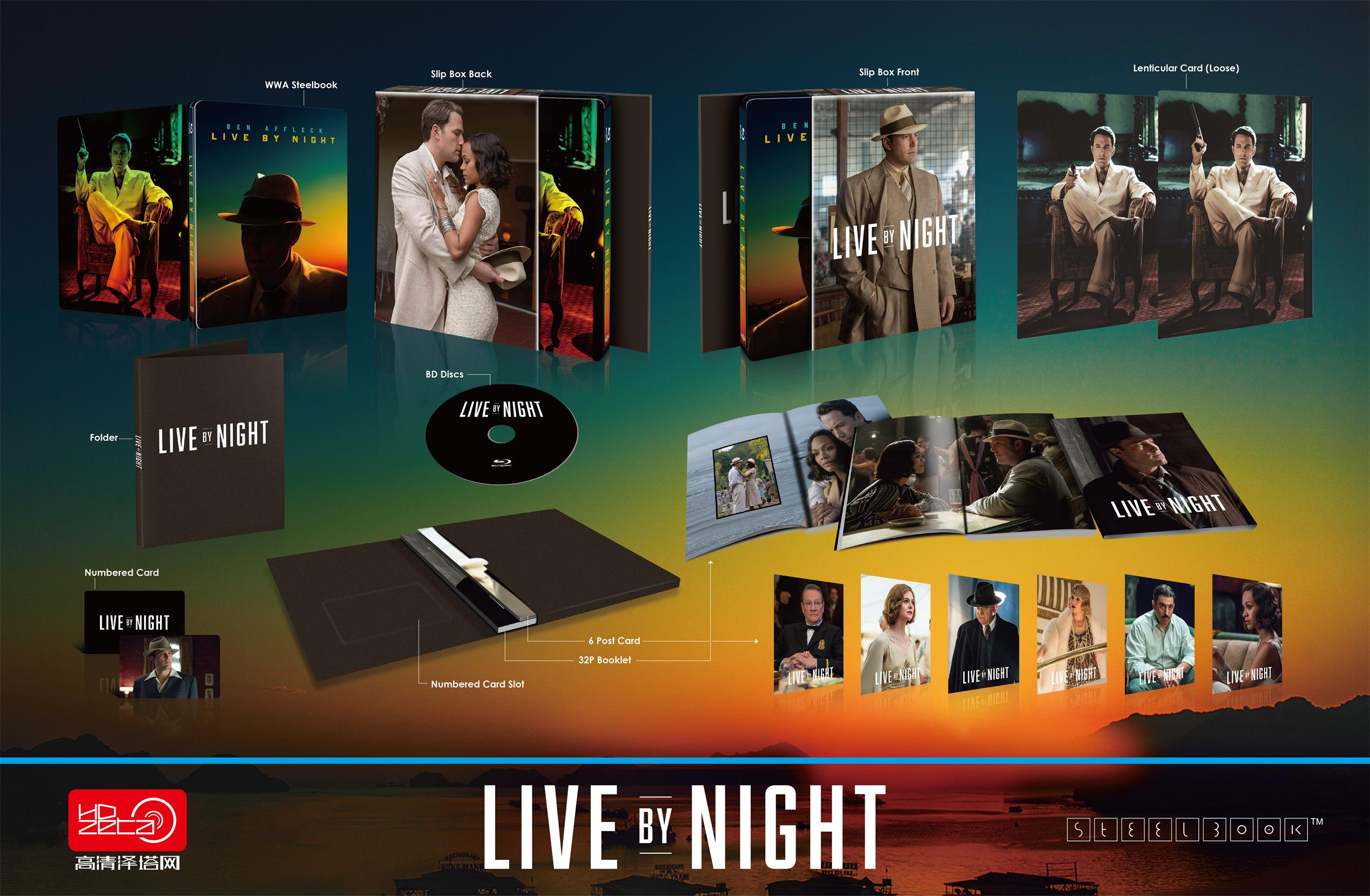 Live By Night HDzeta Silver Label Special Edition